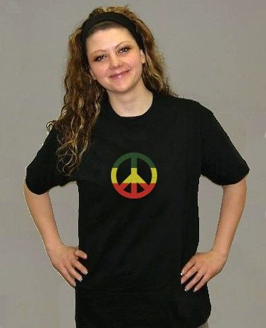 Tričko peace