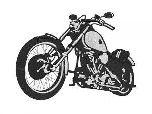 Výšivka Motorka 3