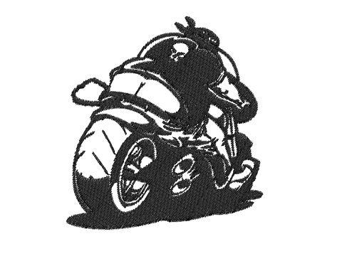 Výšivka Motorkář