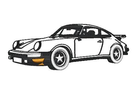 Nášivka Porsche
