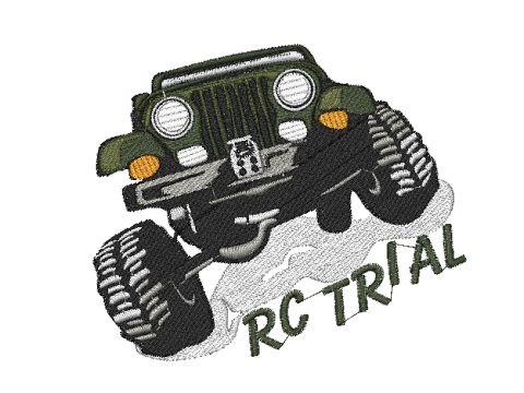 Výšivka RC Trial