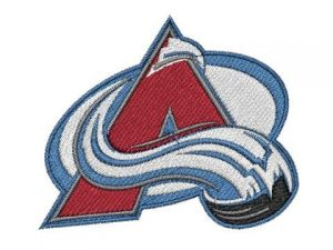 Nášivka Colorado Avalanche