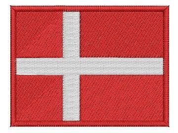 vyšívaná vlaječka