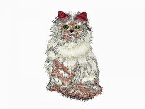 Výšivka Kočka
