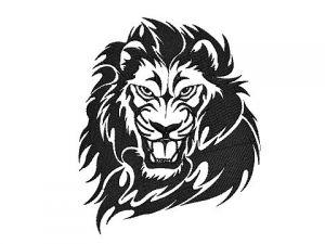 Výšivka Lev