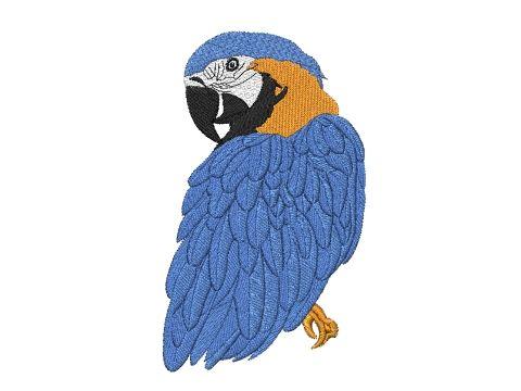Výšivka Papoušek Ara Pelisport