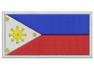 Nášivka Filipínská vlajka