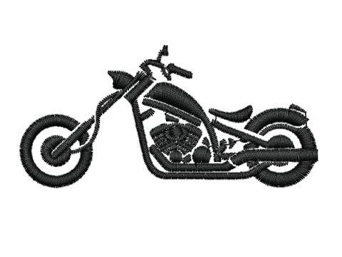 Výšivka Chopper
