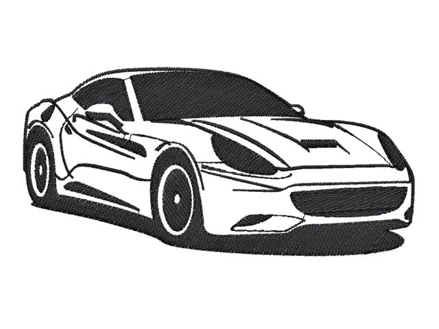 Nášivka Ferrari -2