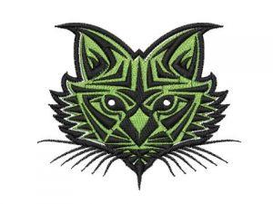 Výšivka Kočka 1