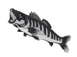 Výšivka ryba